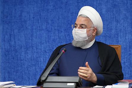 روحانی: برخی کشورها پول ما را به خودمان تحویل نمیدهند/تعطیلی، راه مقابله با کرونا نیست