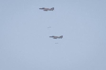 انهدام اهداف سطحی توسط جنگندههای نهاجا
