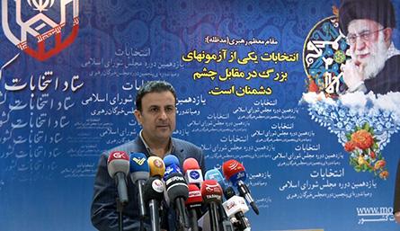 سخنگوی ستاد انتخابات: رای گیری در پنج حوزه انتخابیه تمدید شد