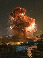 حمله هوایی ارتش رژیم صهیونیستی به نوار غزه