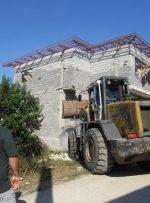 ۶ واحد مسکونی غیرمجاز در عباس آباد قلع و قمع شد