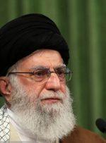 دیدار رهبر انقلاب با برگزارکنندگان بزرگداشت سالگرد شهید سلیمانی
