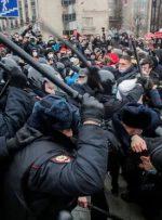 هشدار اتحادیه اروپا به روسیه درباره پیامدهای دستگیری ناوالنی و برخورد با معترضان