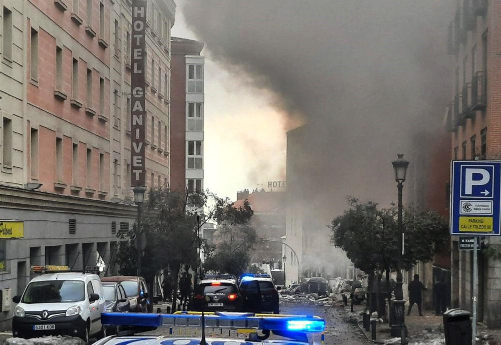 انفجار در مرکز مادرید