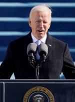 سخنرانی جو بایدن در مراسم تحلیف