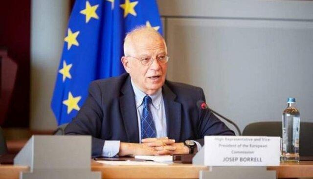 بورل: توافق هستهای از محورهای جلسه امروز شورای روابط خارجی اتحادیه اروپاست
