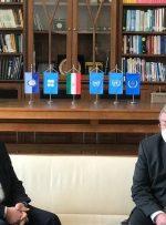 عراقچی با نماینده روسیه در سازمانهای بین المللی دیدار کرد