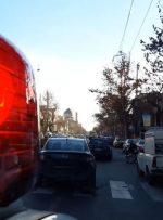 فرار دیوانهوار خودرو به دلیل دستکاری پلاک در تهران / دستگیری راننده متخلف با شلیک پلیس