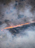 استقرار دائم هلیکوپترها در ۴ پایگاه زاگرس برای اطفای حریق جنگلها