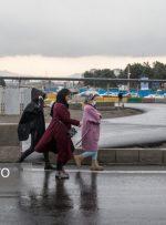 بارش پراکنده باران در کشور