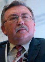 ابراز امیدواری اولیانوف درخصوص به نتیجه رسیدن مذاکرات وین تا ۳۱ اردیبهشت