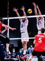 لیگ ملتهای والیبال/ ایران ۲ -۲ آلمان