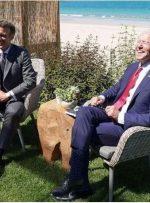 مذاکره بایدن و ماکرون بر سر مسائل چین و روسیه در حاشیه اجلاس گروه هفت