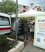 موج پنجم کرونا و صف ایرانیها در ارمنستان برای تزریق واکسن