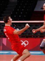 برد قاطع والیبال لهستان برابر ایتالیا