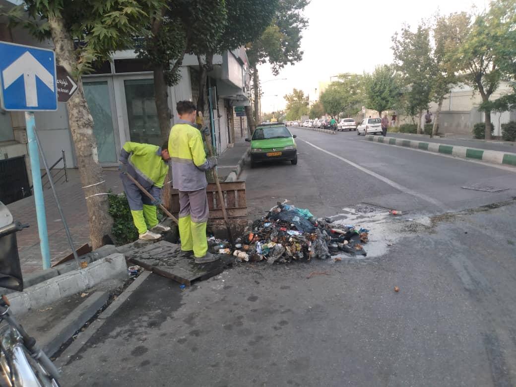 معبر شمال شرق تهران زیر گام های خدمت گزاران شهرداری