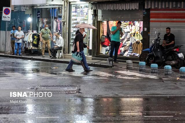 رگبار و رعدوبرق در نیمه شمالی استان تهران/تداوم هوای مطلوب در غالب مناطق پایتخت