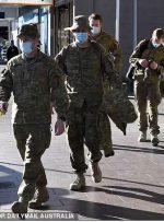 ارتش استرالیا برای اعمال سفت و سختترین تدابیر قرنطینهای به خیابانها آمد