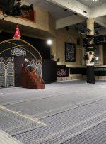 مراسم عزاداری شب تاسوعای حسینی در حسینیه امام خمینی