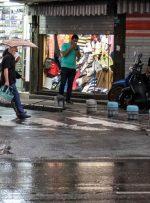 رگبار باران و رعدوبرق در برخی استانهای کشور/ دریای خزر طوفانی میشود