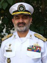 دریادار ایرانی: میتوانیم در هر پهنه آبی که لازم باشد حضور داشته باشیم