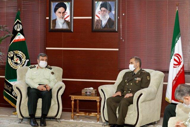 آغاز فصل جدید در گسترش روابط وزارت دفاع با نیروی انتظامی
