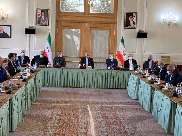 برگزاری مراسم معارفه معاونین جدید سیاسی، دیپلماسی اقتصادی و اداری وزارت خارجه