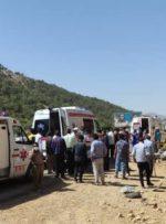 ۸ مصدوم و ۲ کشته در پی واژگونی پژو حامل اتباع افغانستانی در محور یاسوج_ شیراز