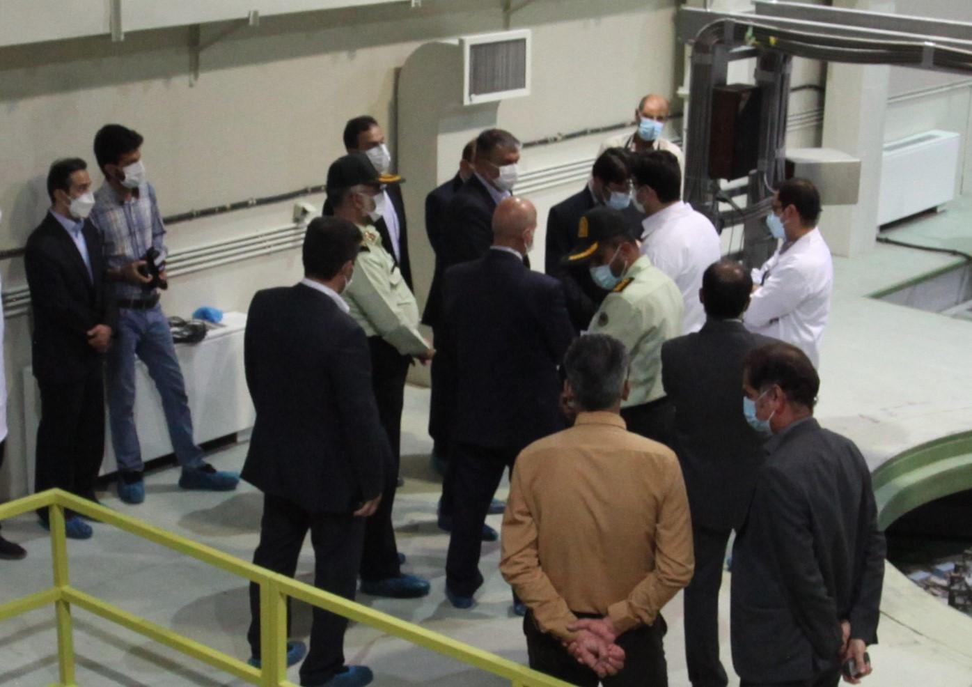 بازدید رئیس سازمان انرژی اتمی کشوراز مرکز بینالمللی آموزش هستهای ایران