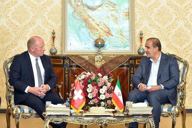 جزئیات دیدار رئیس کمیسیون کشاورزی با رئیس مجلس شورای ملی سوئیس