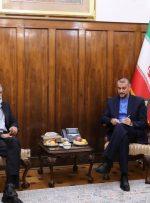 رایزنی امیرعبداللهیان و حدادعادل برای توسعه زبان فارسی در خارج از ایران