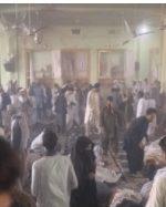 انفجار تروریستی در مسجد شیعیان در قندهار